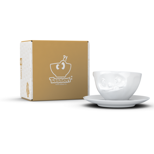 "58 products Kaffeetasse ""Lecker"""