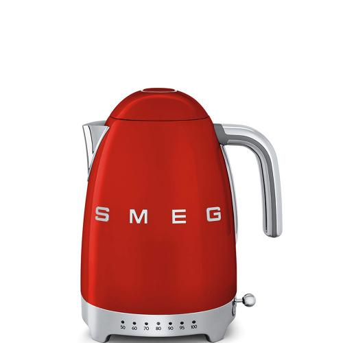 Smeg 50's Retro Style Wasserkocher variable Temperatur rot