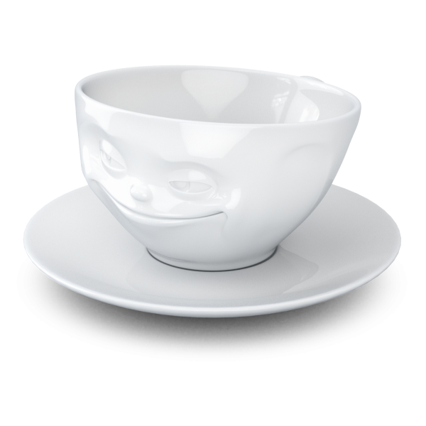"58 products Kaffeetasse ""Grinsend"""