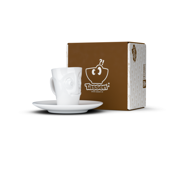 "58 products Espresso Mug mit Henkel - ""Lecker"""
